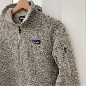Patagonia Quarter Zip Sweater